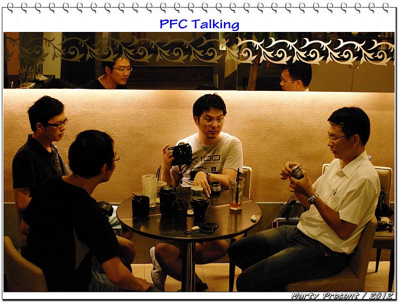 PFC Talking @ 丹堤咖啡