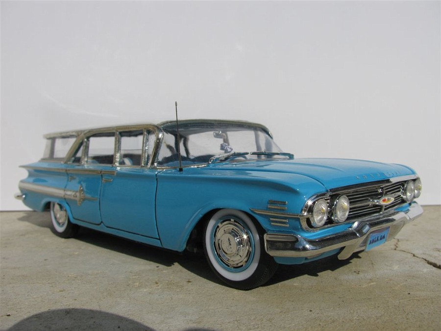 """Chevrolet """"impala"""" station wagon 1960 1153-vi"""